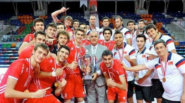Genç Erkekler Balkan Şampiyonu