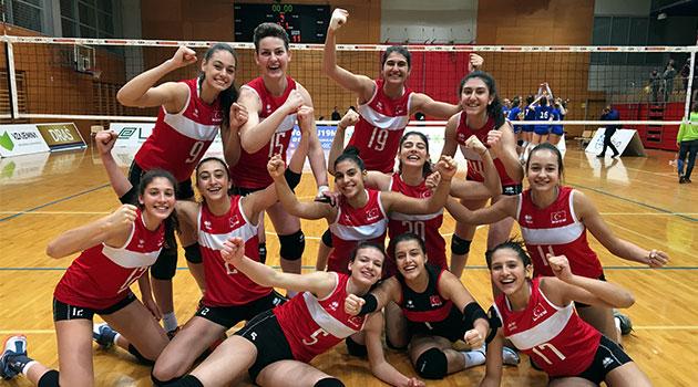 U18 Bayan Voleybol Milli Takımımız Avrupa Şampiyonası Finalleri'nde