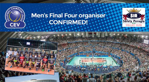 Erkekler Şampiyonlar Ligi'nde Dörtlü Finallerin Ev Sahibi Belirlendi