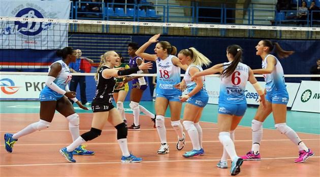 Dinamo Moskova Liderliğe Çok Yaklaştı