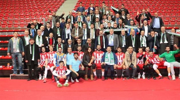 Fındıklı Spor ve Akkuş Bld 1.Lig'e Yükseldi