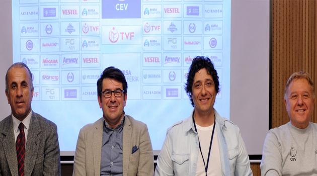 Kar Voleybolu Heyecanı Bursa Uludağ'a Taşındı