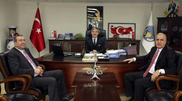 TVF Başkanı M. Akif Üstündağ Ziyaretlerde Bulundu