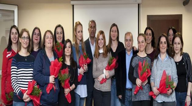 8 Mart Dünya Kadınlar Günü Kutlandı