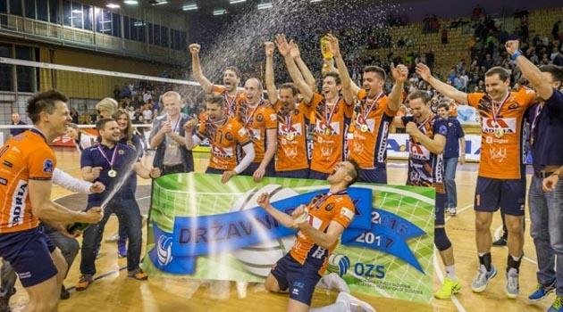 ACH Ljubljana Evinde Şampiyonluğu Kazandı