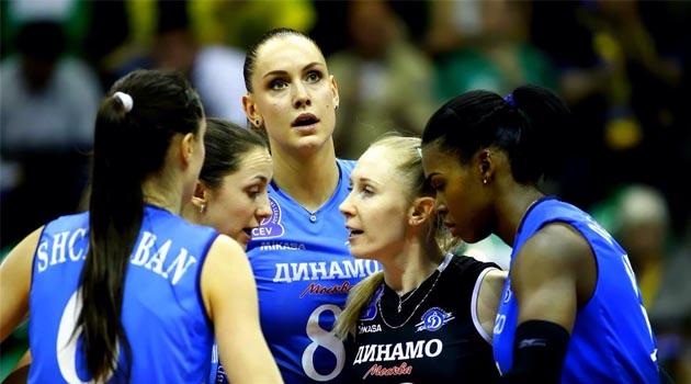 Goncharova, Dinamo Moskova'yı Galibiyete Taşıdı