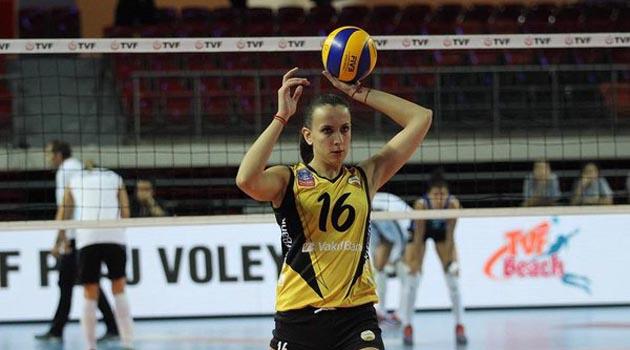 VakıfBank'ta Milena Rasic kaldı..