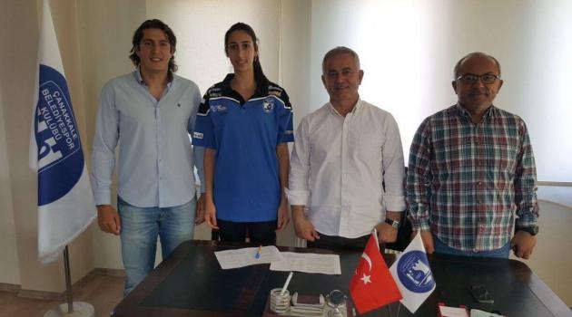 Yasemin Şahin, Çanakkale Belediyespor'da.
