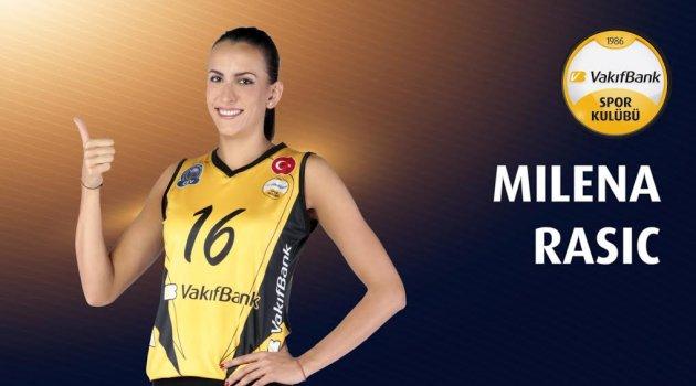 VakıfBank, Milena Rasic ile sözleşme tazeledi