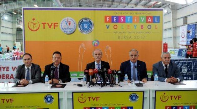 Festival Voleybol Basın Toplantısı Yapıldı