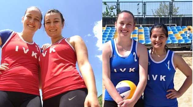 İstanbul Voleybol Plaj Voleybolunda Finallere Kaldı