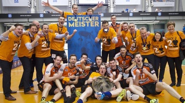 BR Volleys Deplasmanda Şampiyonluğu Kazandı