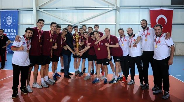 Festival Voleybol Yıldız Erkekler'de Şampiyon Halkbank