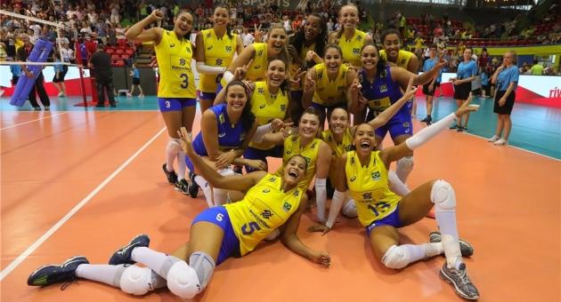 Montreux Volley Masters'ta Şampiyon Brezilya!