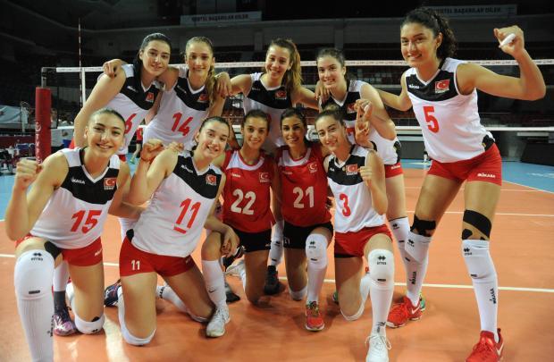 U20 Bayan Voleybol Milli Takımımız Hazırlıklarını Sürdürüyor