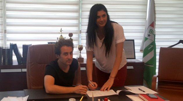 Burcu Genç Bursaspor'da!