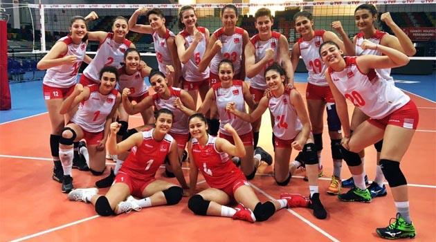 Balkan Şampiyonası'na Galibiyetle Başladık