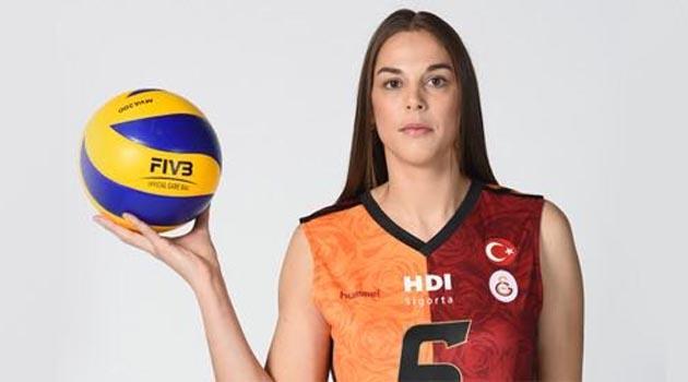 Galatasaray'dan Charlotte Leys'e teşekkür