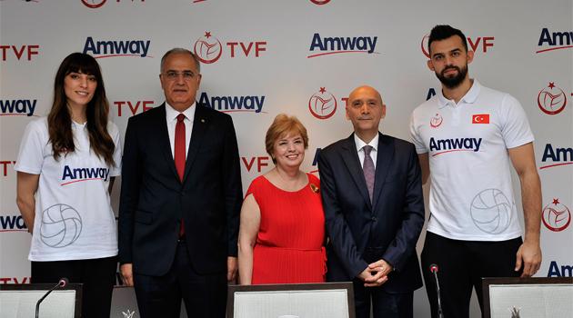 TVF & Amway İşbirliği Beşinci Yılında