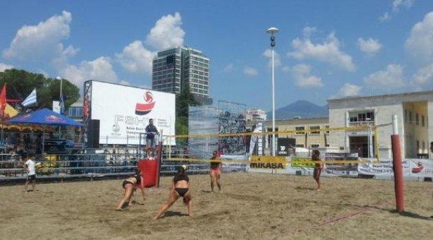 Manavgat'ta plaj voleybolu başlıyor