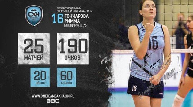 Goncharova, Sakhalin ile anlaştı