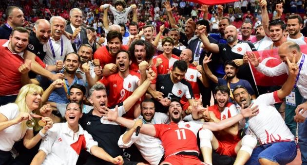 Erkek Milli Takımımız Olimpiyat Şampiyonu!..