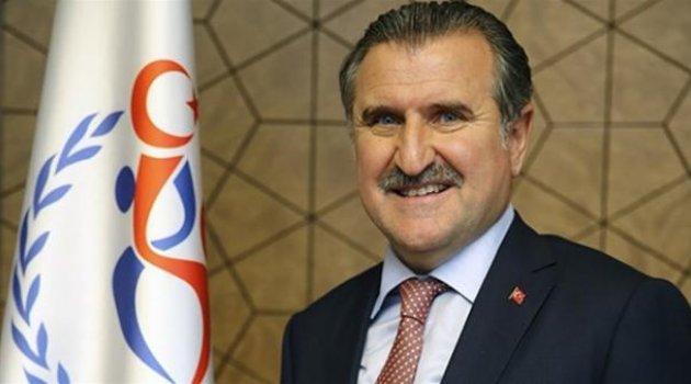 Osman Aşkın Bak'tan tebrik!