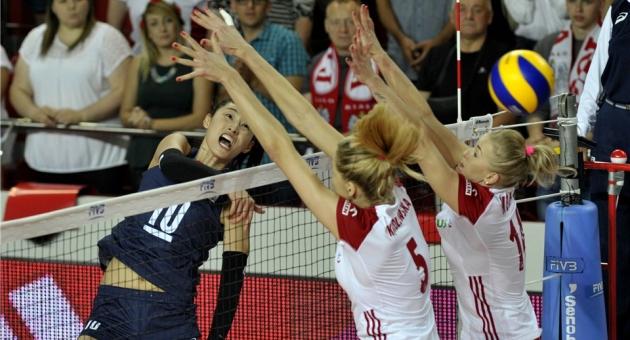Grand Prix 2. Grup'ta Güney Kore - Polonya finali