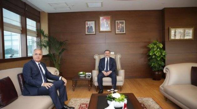 Başkan Üstündağ'dan, Bakan Bak'a Ziyaret
