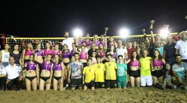 Manavgat'ta Plaj Turnuvası sona erdi