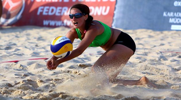 Pro Beach Samsun Yarı Finalistleri Belli Oldu